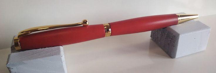 Penne a sfera - Penna a sfera in resina colorata fatta a mano - un prodotto unico di Regali-Artigianali-Da-Devis su DaWanda