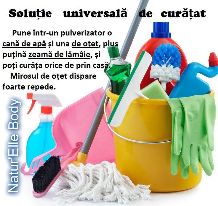 Soluție universală de curățat