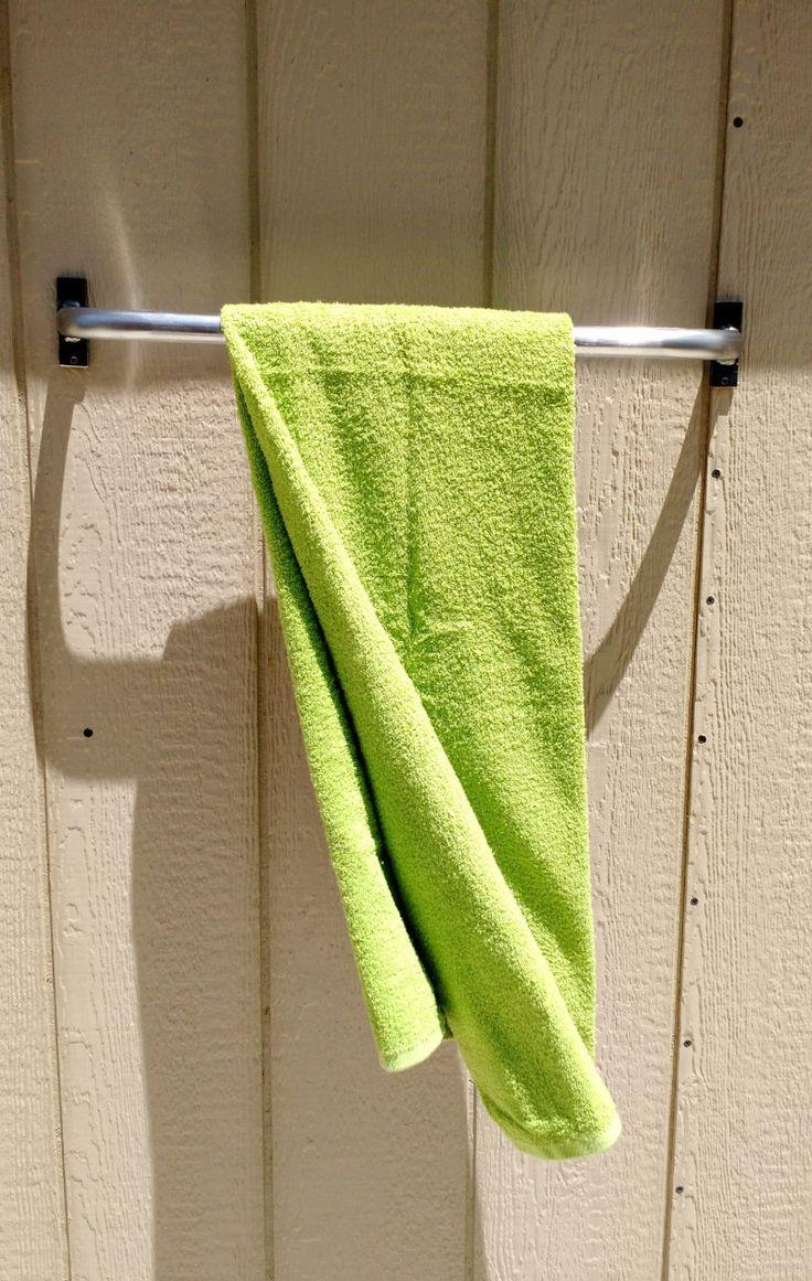 Industrial Towel Bar Rod, Modern Towel Bar, rounded elbows towel Bar, Iron curtain Rod, Safety Grab Bar, Rail Grab Bar, Hand Forged Bar. by AdyEscalante on Etsy