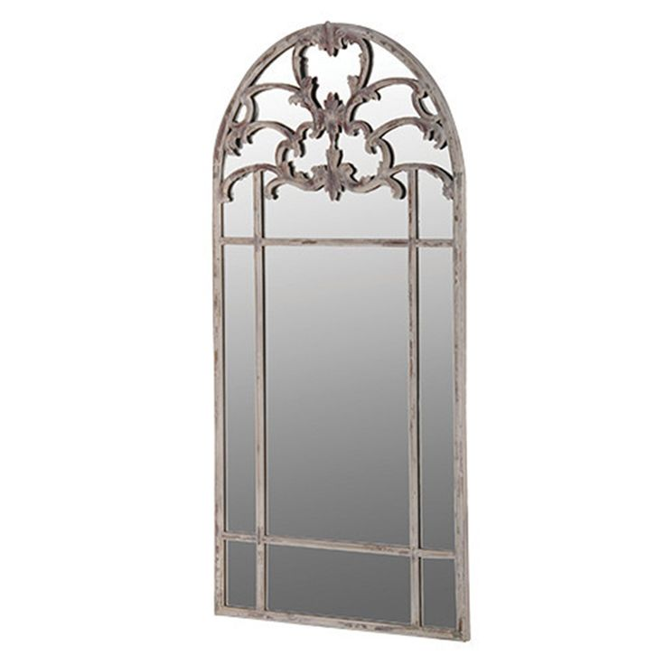 Arched Decorated Mirror 76 x 153 cm