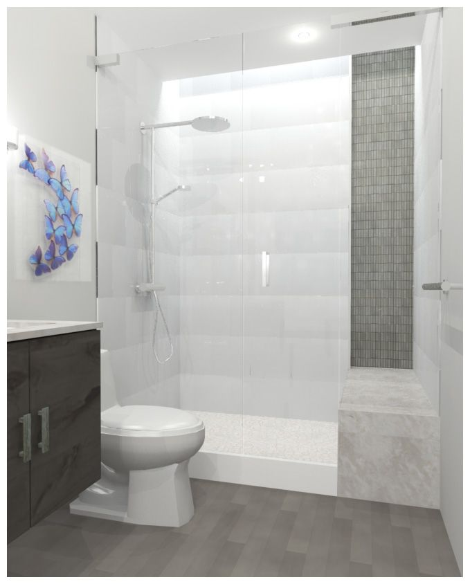 Master Bathroom Designs Sneak Peak Mosaics Gray And