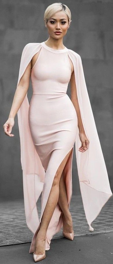 #summer #trending #outfitideas |  Blush Gown