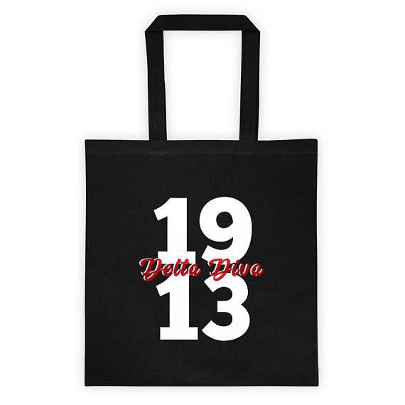 Delta Sigma Theta Diva Tote bag | Coolest Sorority on Planet