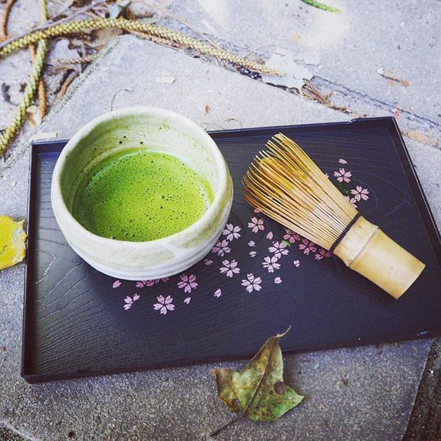 Making matcha the traditional way has a tranquil beauty to the process. Take a moment and enjoy the sweet umami aroma while you whisk your fresh matcha to life  (Cr.  @ni.matcha )  #matcha #mindfulness #beauty #tranquility #zen #matchagreentea #matchalover #matchatea #matchagreentea #japanesematcha #ultimatematcha