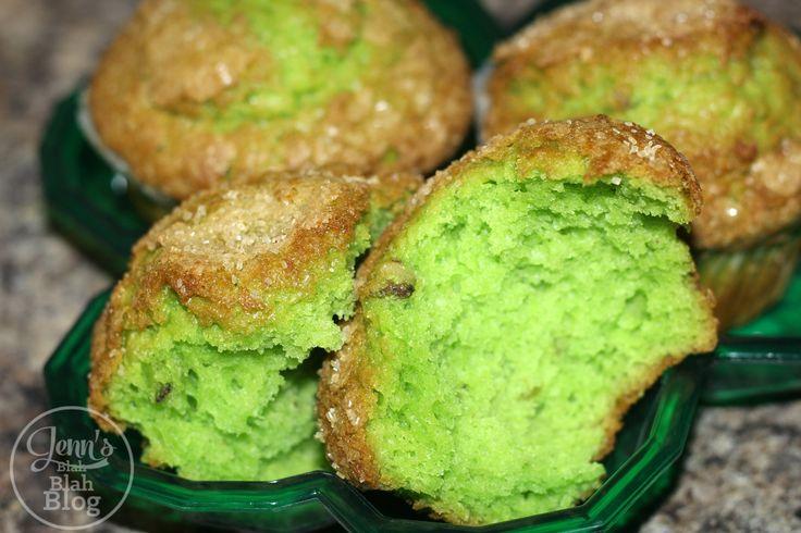 Saint Patrick's Day Recipe: Green Pistachio Muffin Recipe   Jenns Blah Blah Blog   Tips & Trends for Living The Family Life