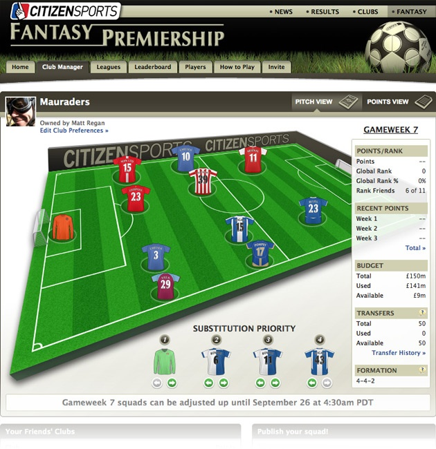 I Product managed the launch of the 2011/12 season of Yahoo's Fantasy Football product for La Liga (ES) and Premier League (UK). I am also currently managing the development and go to market for Fantasy Football 2012/13, which will include Bundesliga (DE), Serie A (IT) and Ligue 1 (FR), will work across all devices (App built for iOS and Android), and is set to generate over 4M USD for the business next season.