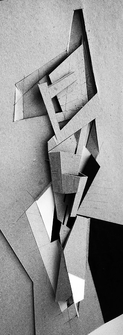 Working model by: HCLA Arquitectos, Caracas Venezuela