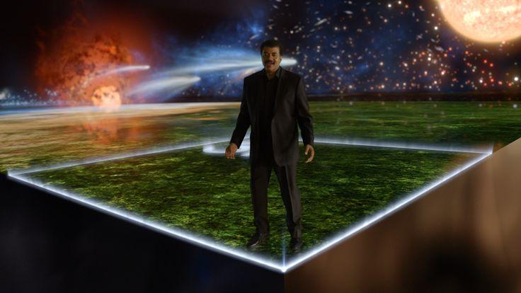 Neil deGrasse Tyson explica el calendario cósmico en el nuevo 'Cosmos'.