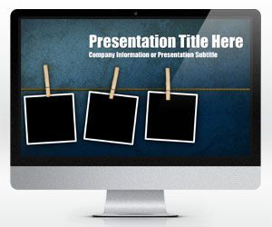Widescreen Peg PowerPoint template is another free background template for MS PowerPoint that you can download for free to make your presentations more impressive
