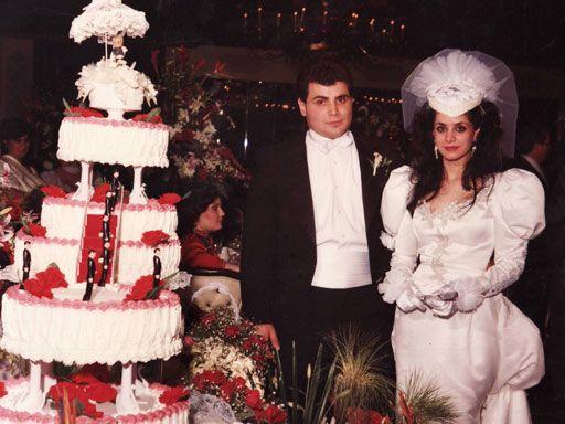 Non Traditional Wedding Dresses Los Angeles: Victoria Gotti Wedding Cake