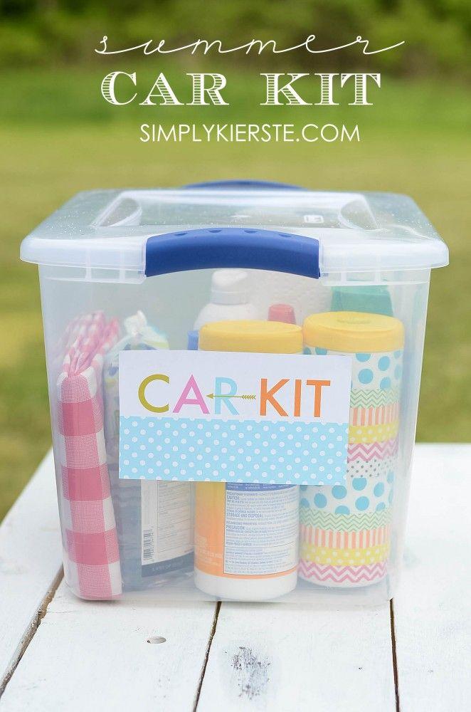 DIY Summer Car Kit | simplykierste.com