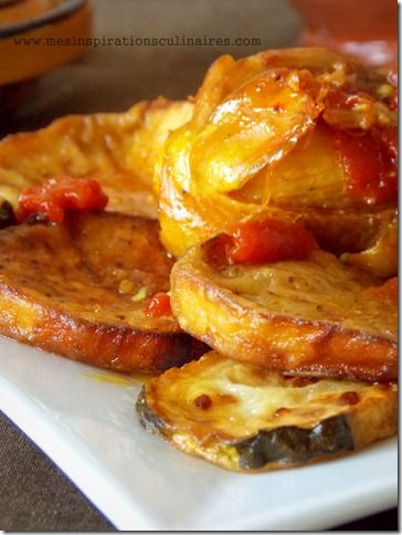 Tajine de poulet aux aubergines (cuisine algerienne)