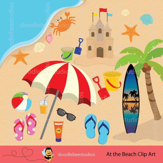 17 Best images about Beach - Clip Art on Pinterest | Clip art ...