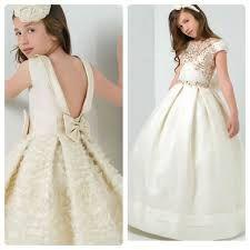 vestidos largos de promoción para niñas