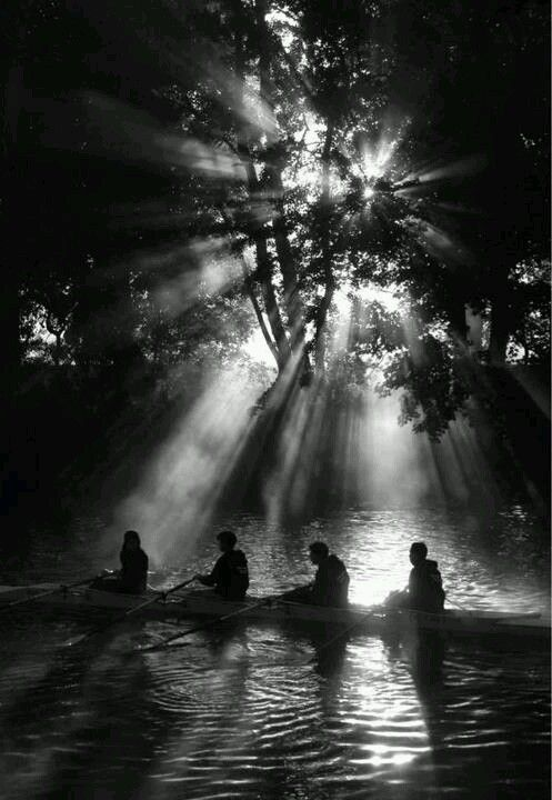A beautiful image by Phil Cross submitted for the 'Playing With Light' installation currently showing at Quad Derby.