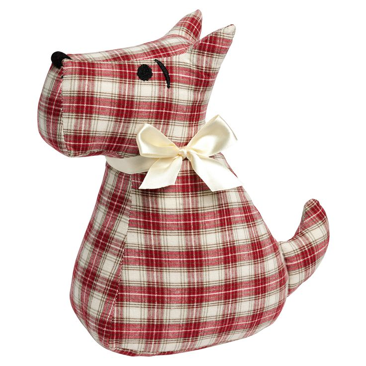 Scottie Door Stop Free Dog Patterns. Find this Pin and more on DIY & Crafts by Red Ted Art. I have been wanting to make a Scottie Door Stop for ages and dog patterns were hard to find. Recycle an old shirt into a scotty dog door stop using the pattern provided with this free tutorial The best Dog .