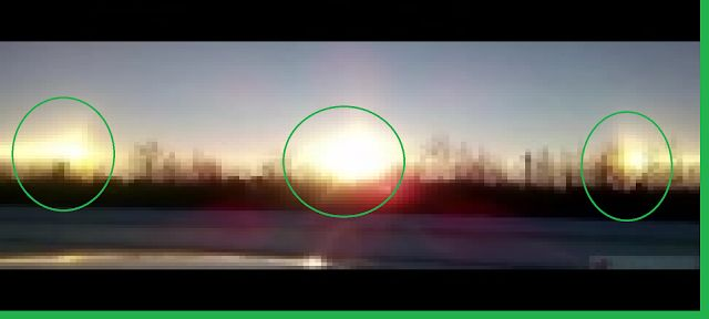 AWAKENING FOR ALL: Russians Baffled As Three Suns Appear In Sky All A...