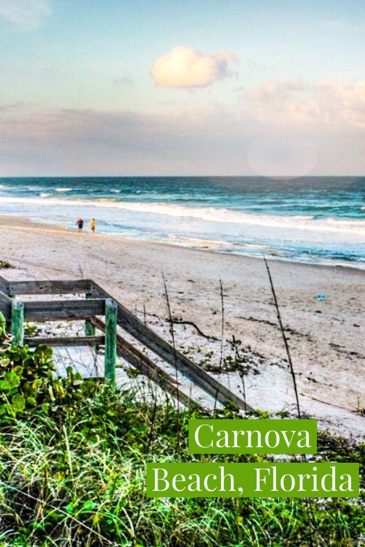 Carnova Beach Melbourne Florida Perfect Vacation Fl Beaches Best Beach In Florida