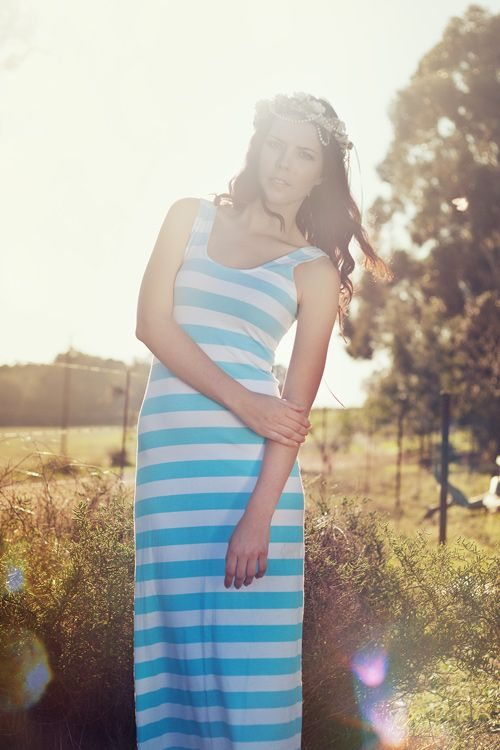 Striped Maxi   Designed by Robyn-Anne Designs Photographer Ashley Marié Miles