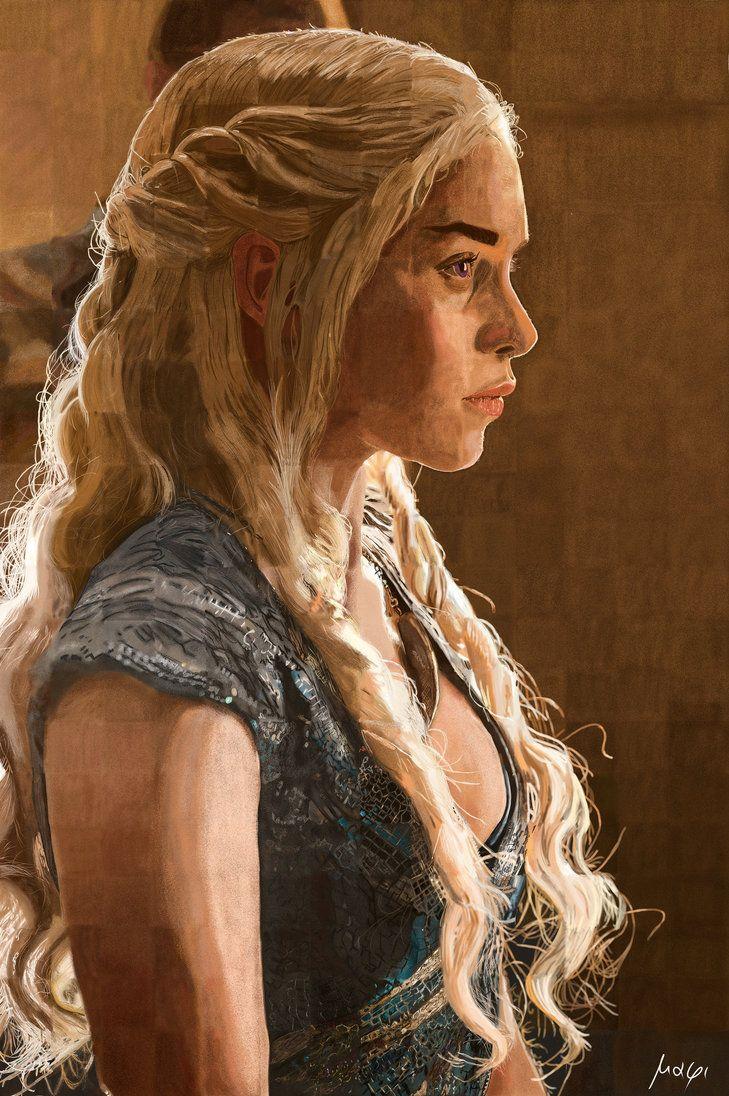 Daenerys by Mixmax3d.deviantart.com on @DeviantArt #digital #digitalpaint #digitalpainting #light #photo #portrait #study #mixmax3d #daenerys #daenerystargaryen #gamesofthrones #daenerysstormborn