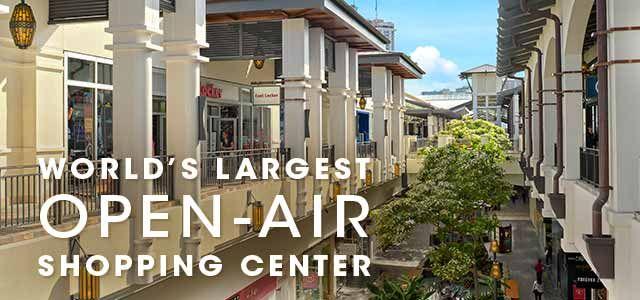 Honolulu, Hawaii Shopping Mall | Ala Moana Center