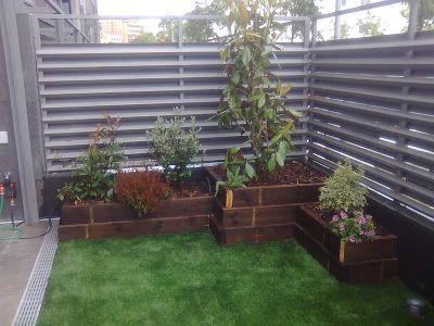 M s de 1000 im genes sobre jard n balcones y terrazas en - Vallas metalicas jardin ...