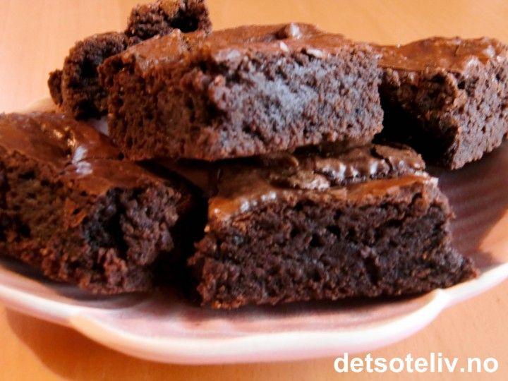 American Brownies | Det søte liv