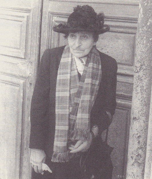 Alice B. Toklas--Beautiful soul was kind to Eva. They understood one another. Their letters to one another are exquisite.