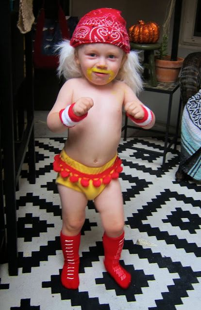 Hulk Hogan Toddler Halloween Costume-- Strutyourstroller.com