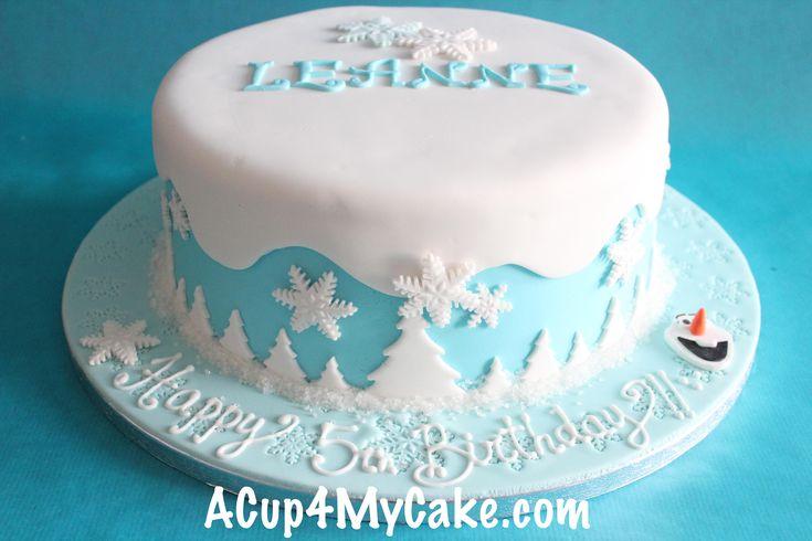 butter cream frozen cake - Buscar con Google