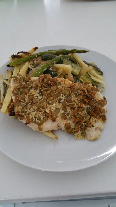 Week 2 - Day 2 Dinner, Day 3 Lunch One pan Pepita & Sesame Chicken
