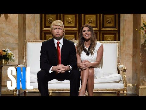 Donald and Melania Trump Cold Open - SNL - http://abibiki.com/donald-and-melania-trump-cold-open-snl/