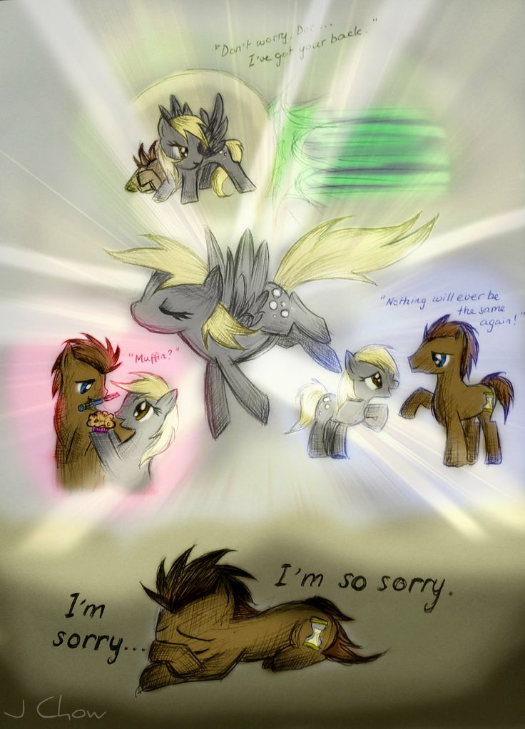 Doctor Whooves: Memories of Derpy by jesschowww on ...
