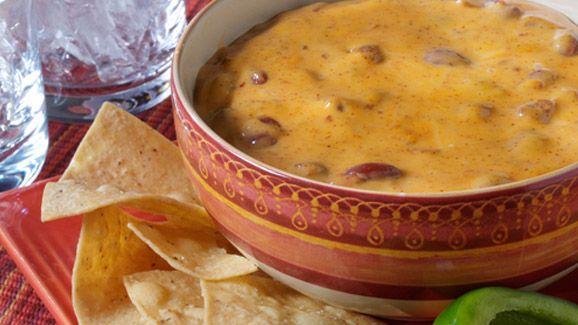 VELVEETA Chili Cheese Dip Recipe (Velveeta Cheese Spread)