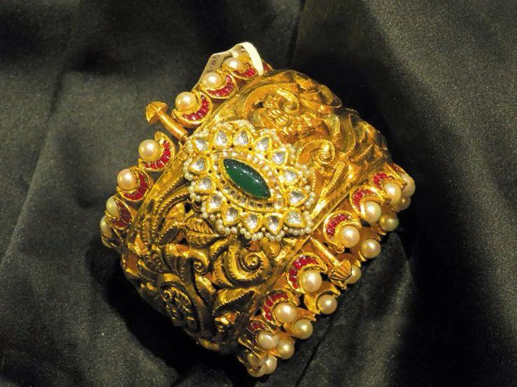 #gold#antique#kada