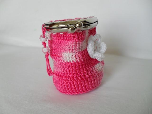 Crochet Mini Purse Maparim Crochet Pinterest