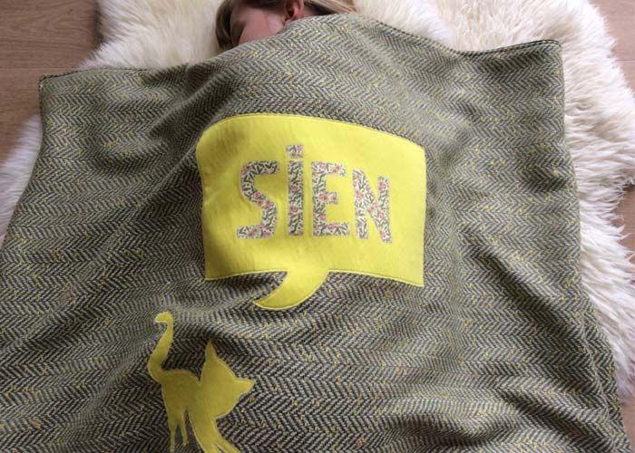 'Sien' blanket / by www.missmoss.be