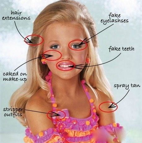 How To Be Beautiful - Toddlers and Tiaras - Parenting Fail ...