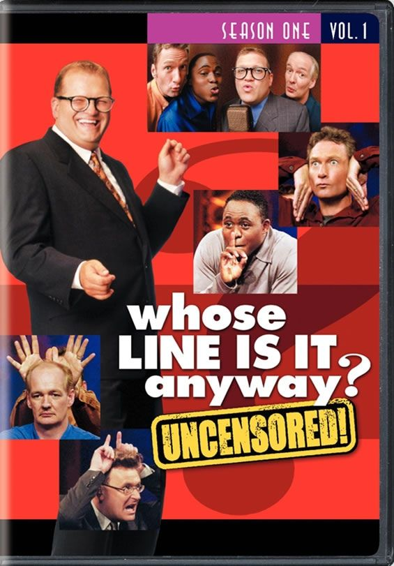 Whose Line Is It Anyway? DVD --I need ALL the seasons! (except for the ones with the British host..he's not funny)