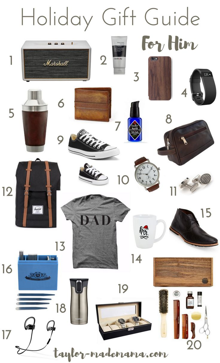Holiday Gift Guide For Him: My guide to shopping for my hubby this Christmas season!  #giftguide #gifts #holidaygiftguide