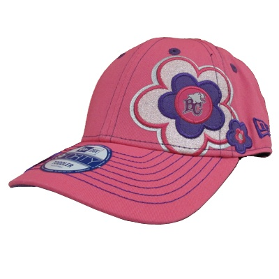 So cute for Maddie!    BC Lions Pink Blossom Children's Hat  $18.95