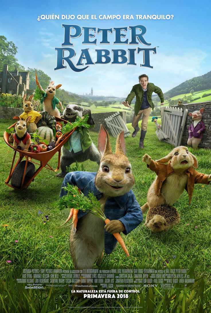 2018 - Peter Rabbit