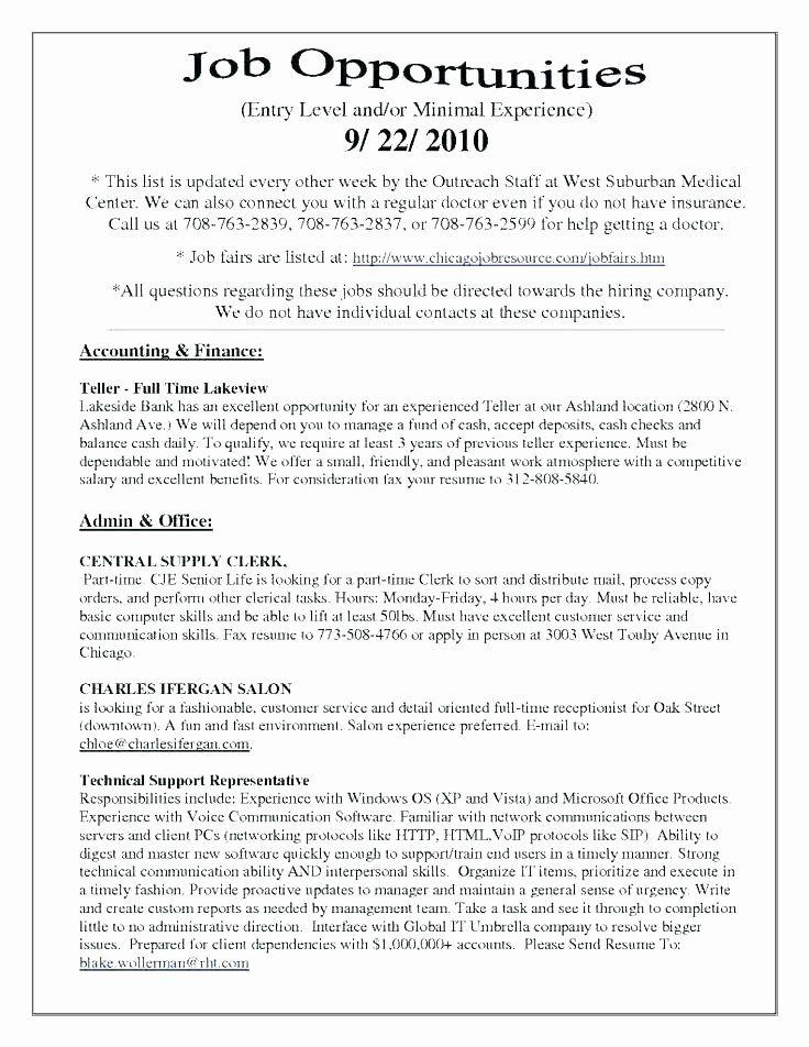 25 Entry Level Flight Attendant Resume In 2020 Bank Teller