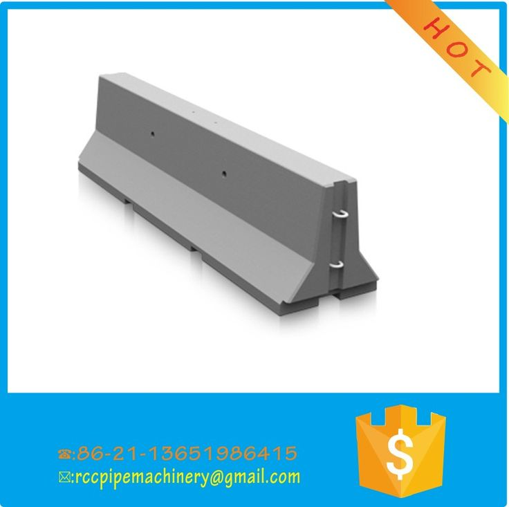 Jersey Barrier Steel Moulds for precast concrete