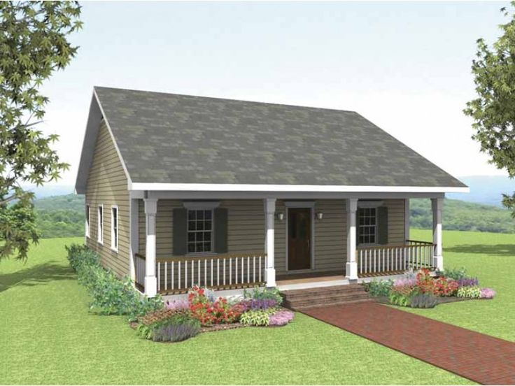 45 best Small House Plans images on Pinterest | Small house plans ...
