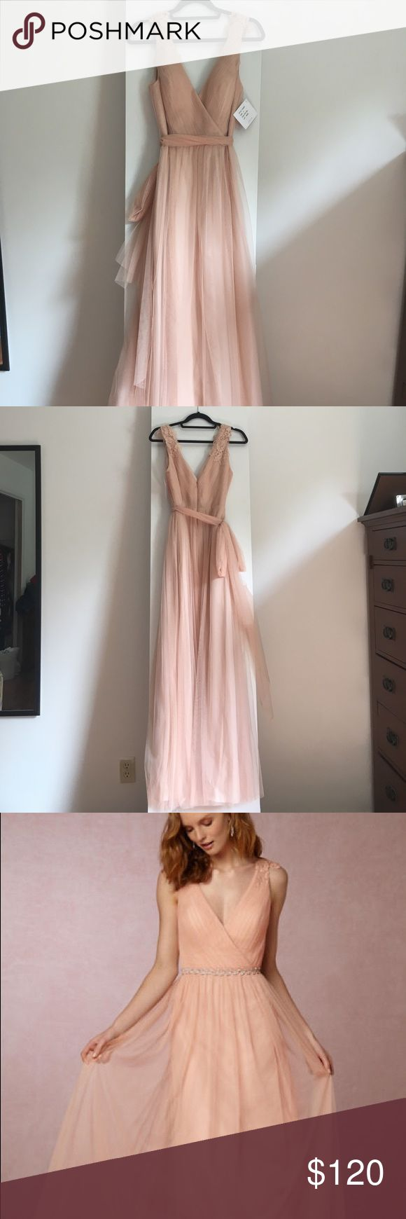 Selling this BHLDN Pippa dress by Watters Size 6 in Aurora on Poshmark! My username is: faltreyu. #shopmycloset #poshmark #fashion #shopping #style #forsale #Watters #Dresses & Skirts