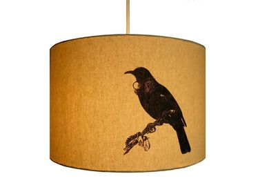 Joug Design : Fabric Tui light shade - Clever Bastards: The best of New Zealand art & design