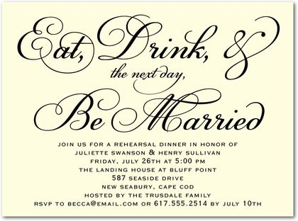 best 25+ rehearsal dinner invitation wording ideas on pinterest, Wedding invitations