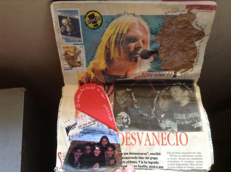 #Collage #LifeProject #ArtJournal Desvanecidos - Mónica Osorio