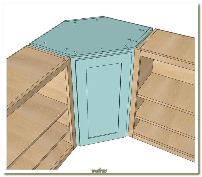 Corner Kitchen Cabinet Dimensions Woodworking Projects